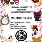JSS Welcome Tea 2012 and practice days